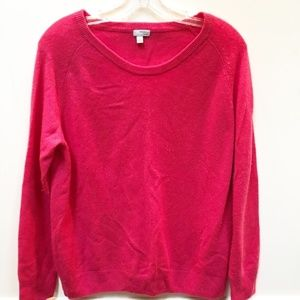 Halogen Pink Cashmere Sweater